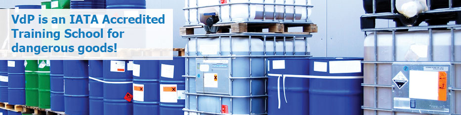 VdP is an IATA Accredited Training School for dangerous goods!